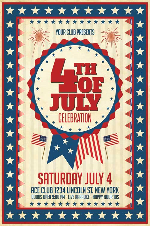 4Th Of July Flyer Template from www.xtremeflyers.com
