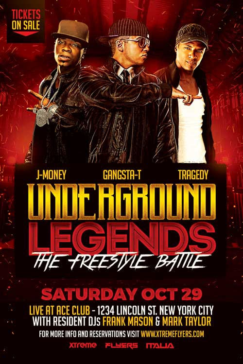 Hip Hop Battle Flyer