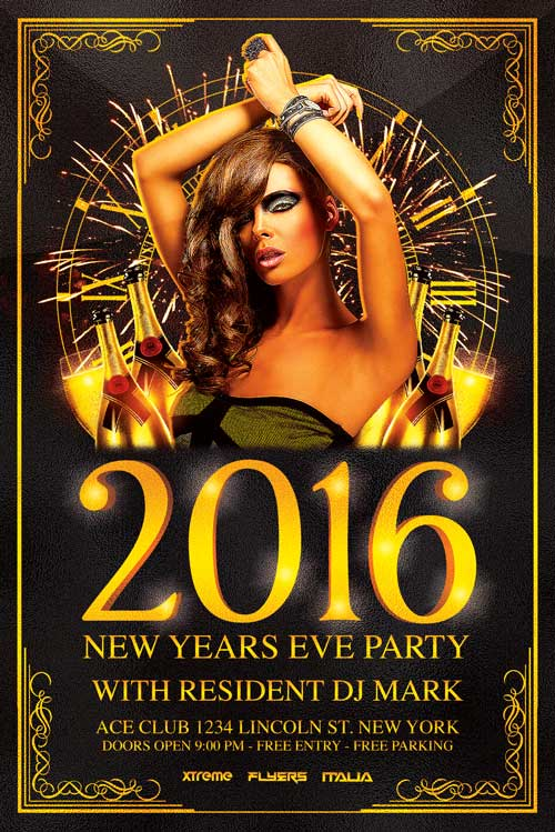 NYE Flyer Template