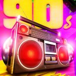 Back to 90s Party Flyer Template