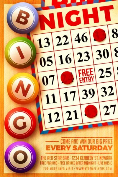 Bingo Night Flyer Template