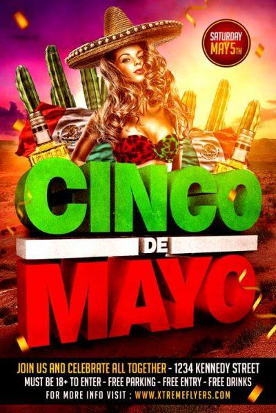 free cinco de mayo flyer template timiz conceptzmusic co