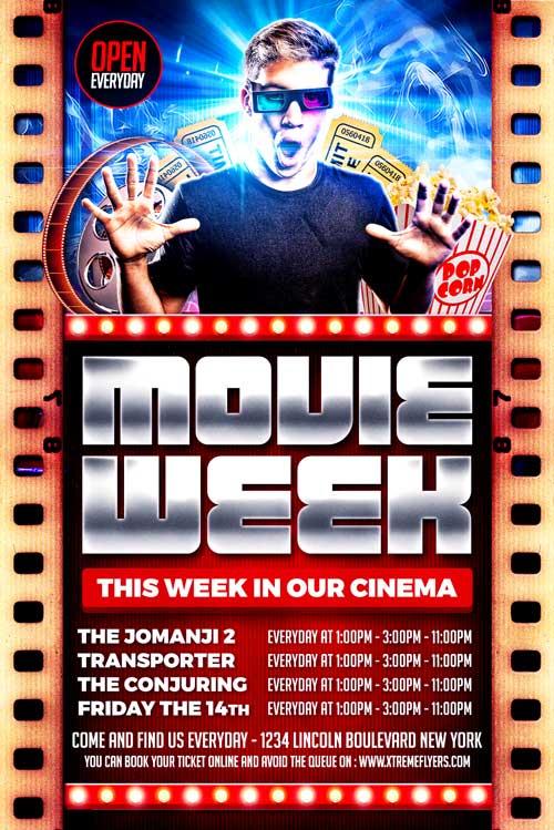 Cinema Flyer Template