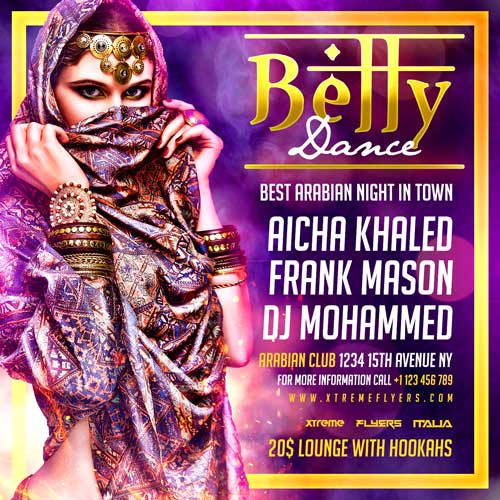 Belly Dance Flyer Template