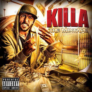 Hip Hop Artist Mixtape Cover Template