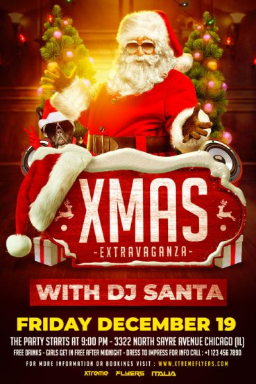 Christmas Extravaganza Flyer Template