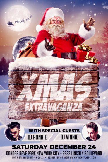 Xmas Extravaganza Flyer Template