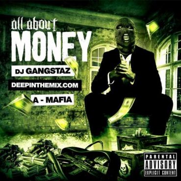 All About Money Mixtape Cover Template